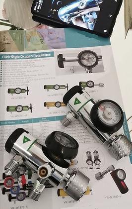 Medical OxygenValve Regulators Tank Bottles