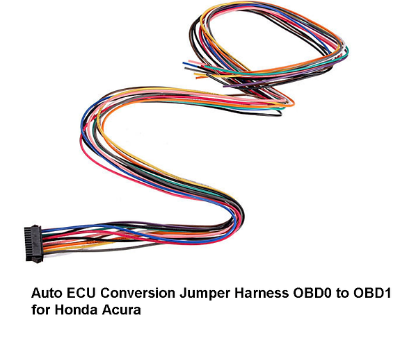 Auto ECU Conversion Jumper Harness OBD0
