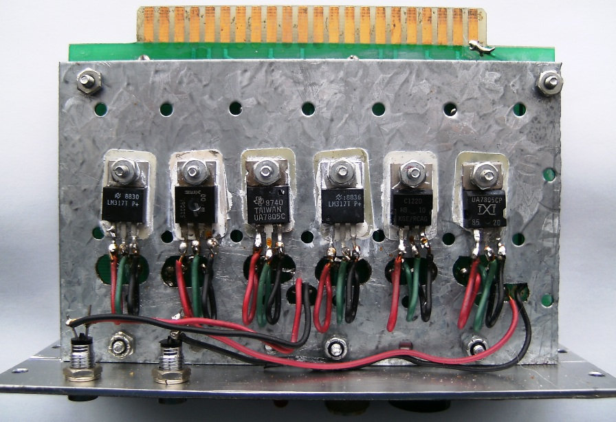 Stanley Meyer Voltage Regulated Power Supply Circuit GMS Back