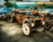 Hot Rod Model A Sedans Poster.jpg