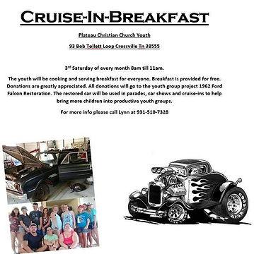 Hot Rod Cruise iBreakfast 3 rd Saturday