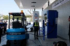 Hydrogen Forklift Logistics