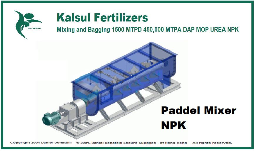 NPK Mixing and Bagging Material Handling
