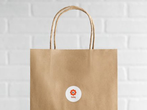 Secure Supplies H2 Shopping Bags for Clients