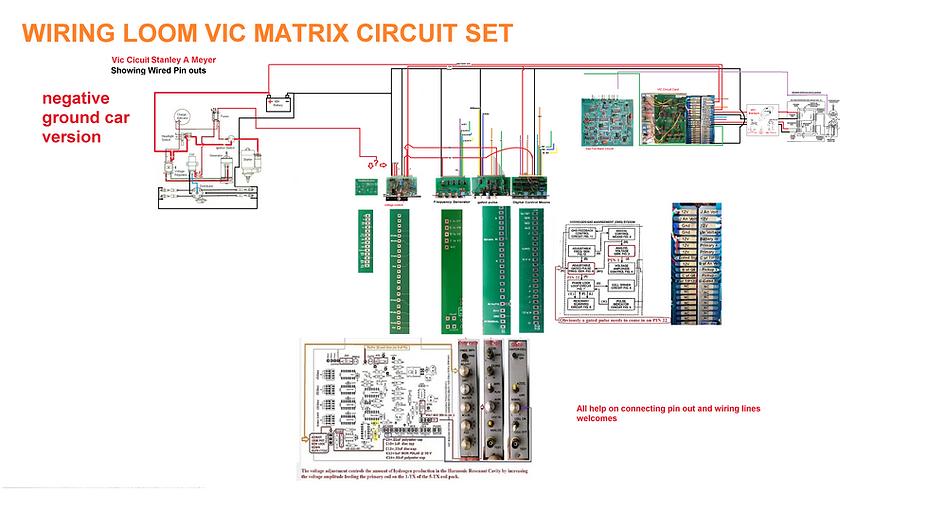 Stanley A Meyer Vic Circuit The Matrix