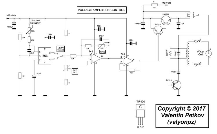 Stanley A Meyer VOLTAGE AMPLITUDE CONTROL
