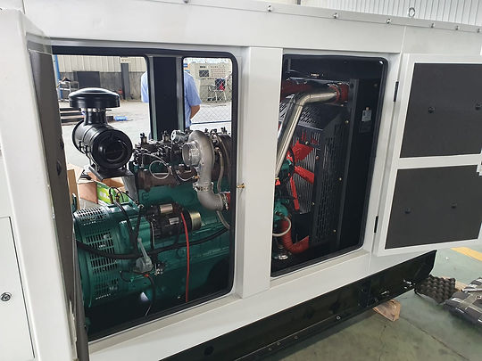 Hydrogen Gas Fueled Power Plant Genset Generator