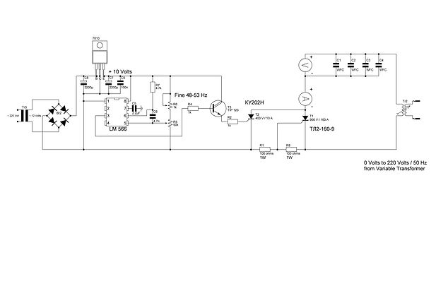 8XA Voltage Intensifier Circuit