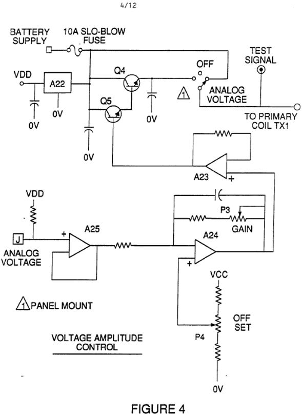 Stanley Meyer Voltage Amplitude Control Circuit