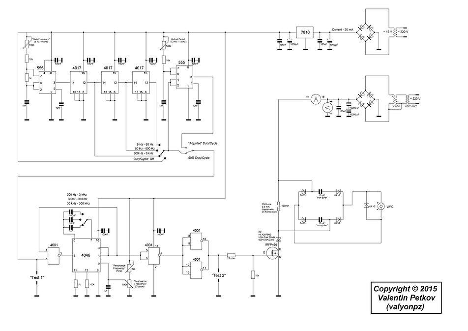 Stanley A Meyer no bifilar circuit step