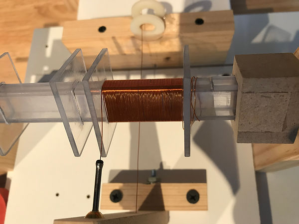 Stanley A Meyer  winding coil bobbins1.J