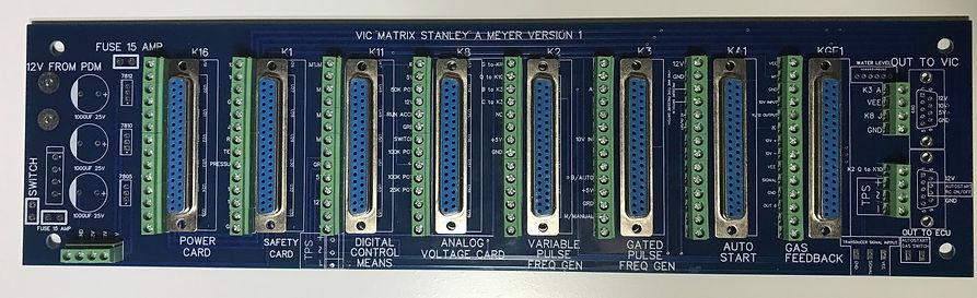 Stanley A Meyer VIC Matrx with Connector
