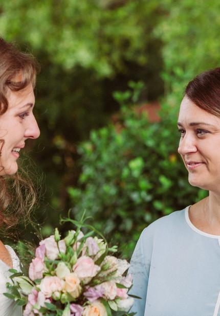 Freie Trauung mit Braut