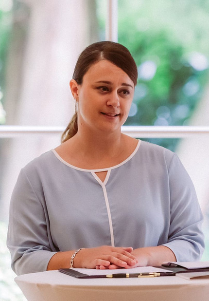 Traurednerin Sabrina Freie Trauung