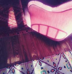 fauteuil-rose