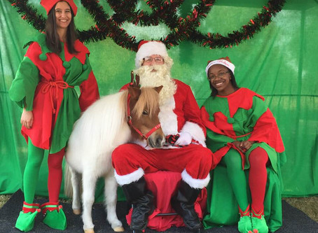 Minis Make Merriment with a Special Visit from Santa!