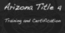 Arizona Title 4