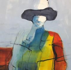 Bachan (Grandma) in a Hat, No.2