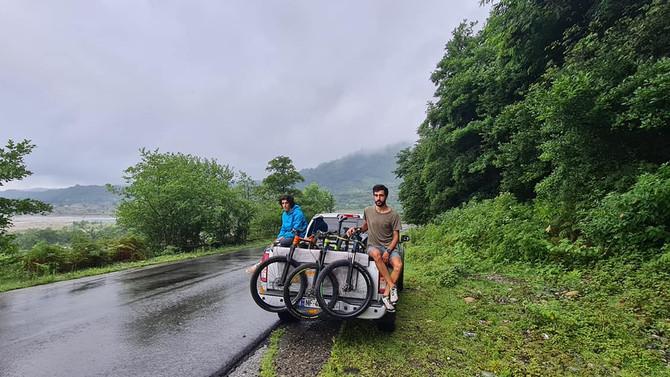 ველო ტური სვანეთში / Mountain bike tour in Svaneti