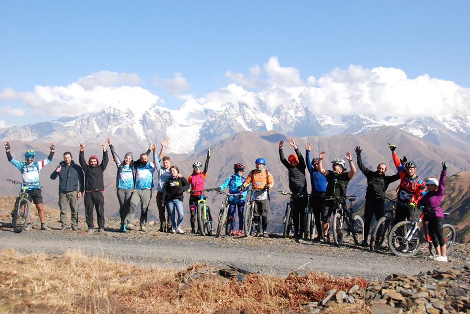 Mountain bike tour in Georgia (2)