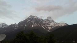Downhill in Saneti Georgia