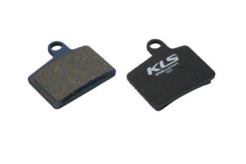 ველოსიპედის ხუნდები - Brake Pads KLS D-06, organic
