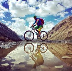 Mountain bike Georgia
