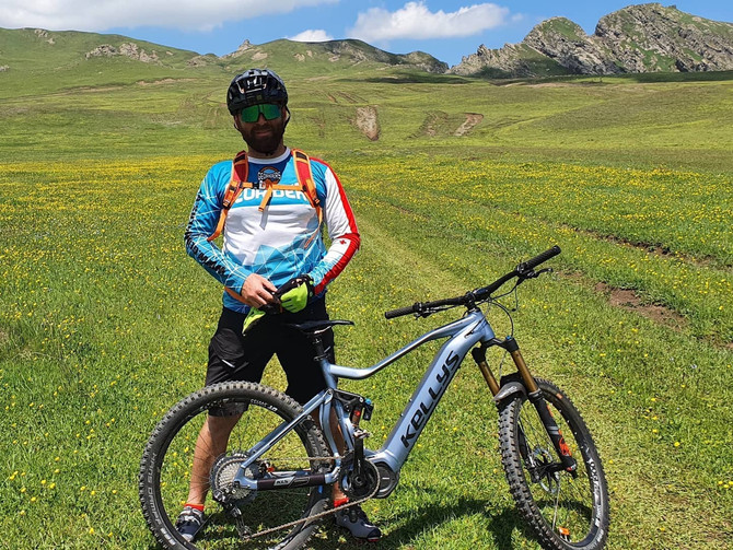ველო ტური დიდგორიდან - ალგეთის ეროვნულ პარკში / Mountain bike tour in Georgia Algeti national park