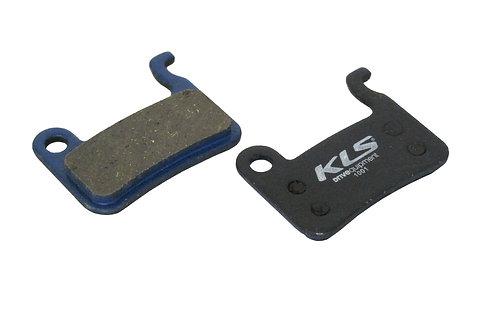 ველოსიპედის ხუნდები - Disc Pads KLS D-03, organic
