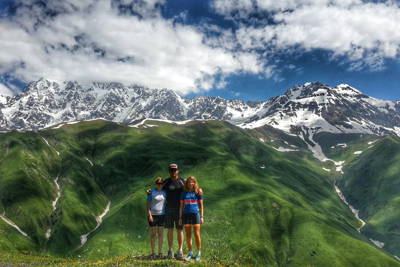 Svaneti view mountain biking