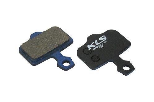 ველოსიპედის ხუნდები - Brake Pads KLS D-01, organic