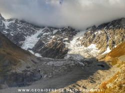 Mtb in Caucasus mountains Svaneti