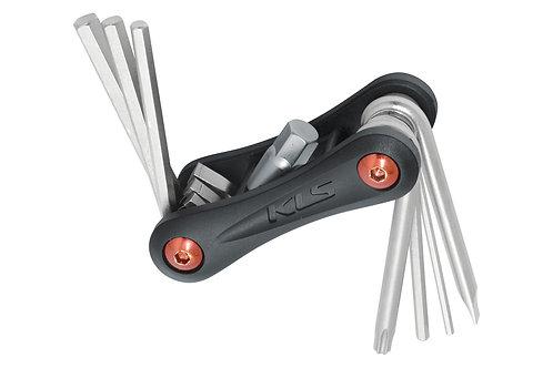 Folding Tool KLS STINGER 8 - ხელსაწყოების ნაკრები 8 ფუნქციით