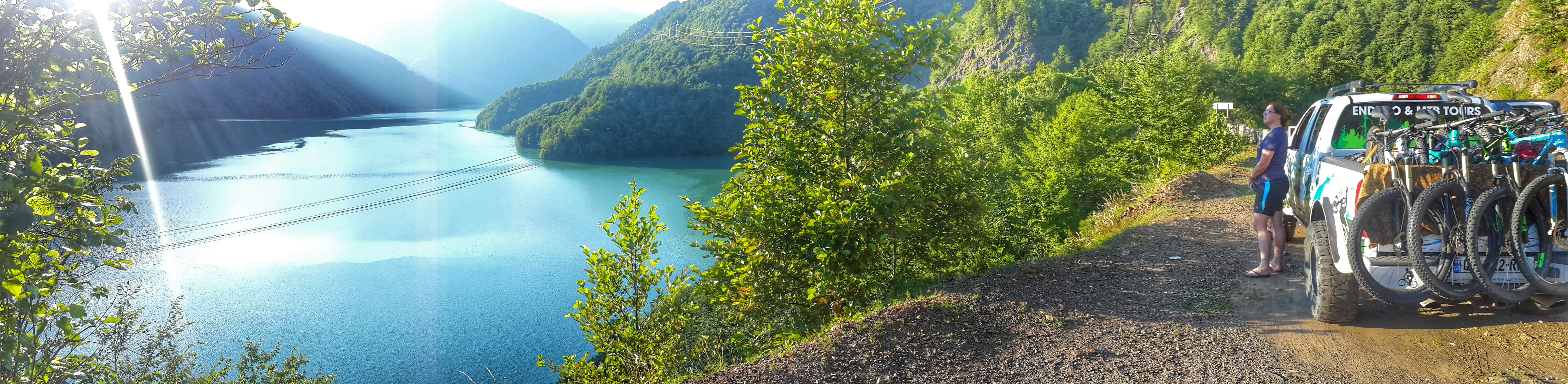 Georgia Svaneti Enguri reservation