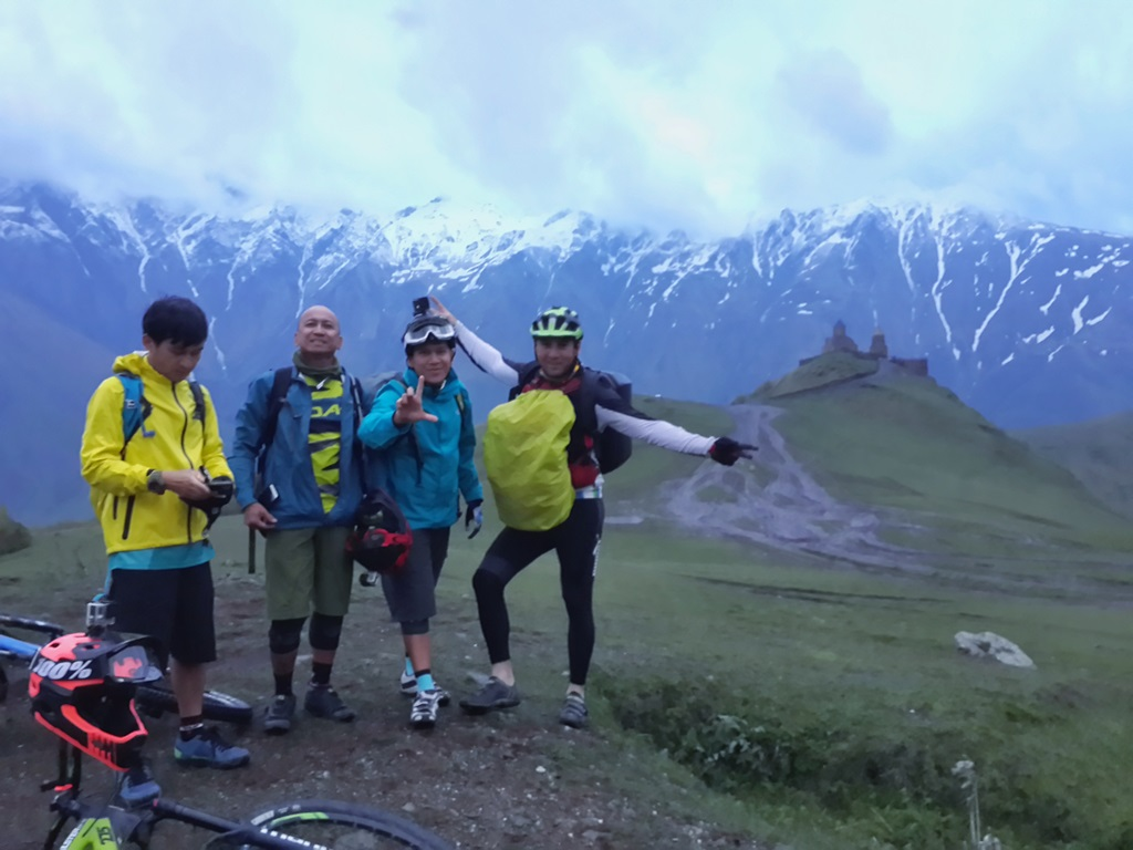 Mountain biking tour in kazbegi