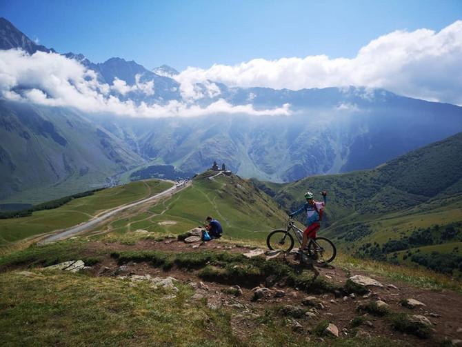 Mountain bike tour in Georgia watch us on CNN