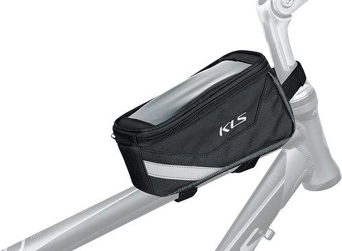 Top tube bag KLS BRICK - ველოსიპედის ჩანთა მობილურის ჩასადებით