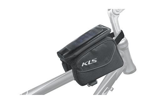 Top tube bag KLS ALPHA - ველოსიპედის ჩანთა მობილურის ჩასადებით