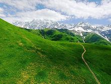 Kazbegi mountain biking tour in the republic of Georgia
