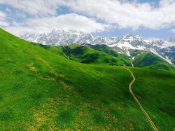 Svaneti Zagaro pass Georgia