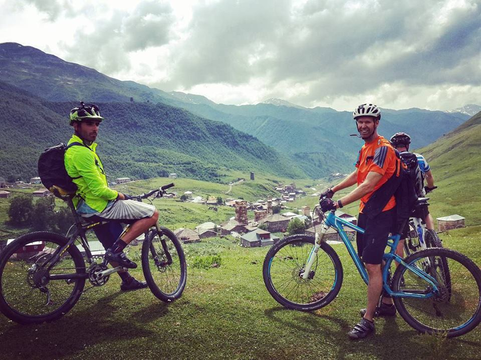 Mountain bike tour in Georgia Svanet
