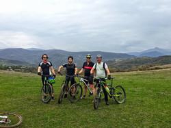 Bike tour in Georgia Kazbegi