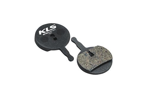 ველოსიპედის ხუნდები - Brake Pads KLS D-15, organic