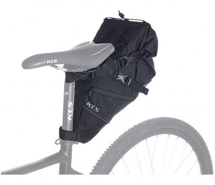 MTB saddle bag KLS Tanaya - ველოსიპედის სამოგზაურო ჩანთა დიდი ტევადობით