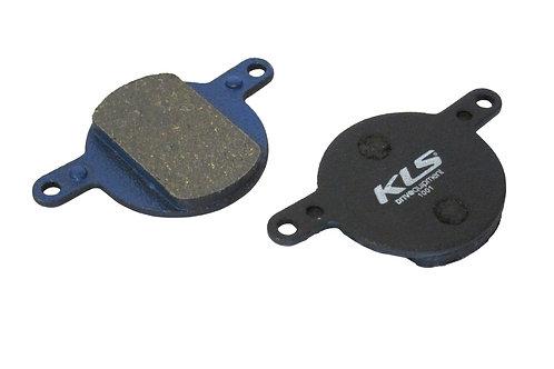 ველოსიპედის ხუნდები - Brake Pads KLS D-12, organic