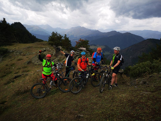 Mountain bike categories and riding skills