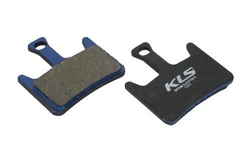 ველოსიპედის ხუნდები - Brake Pads KLS D-07, organic