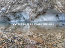 Small lake in Svaneti Ushguli