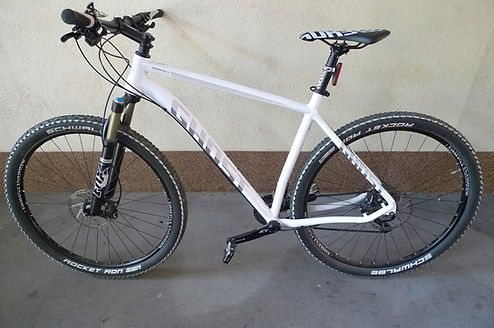 Mountain bike rental service in Tbilisi