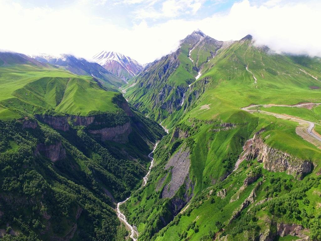 Mountain biking tour in kazbegi 1